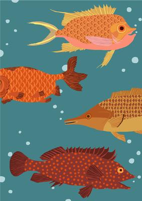 Fliegende Fische -