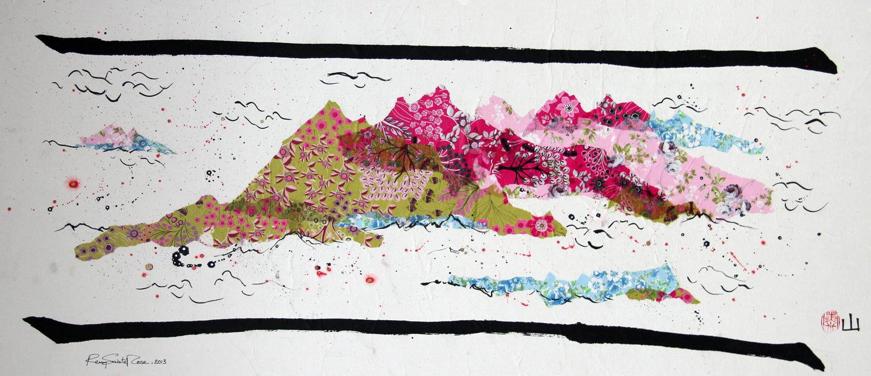 ArtByRemy - Montagne chinoise 3