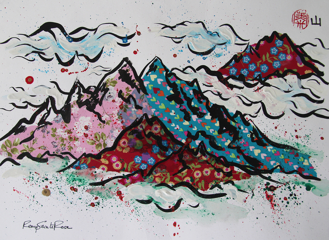 ArtByRemy - Montagnes du Yunnan