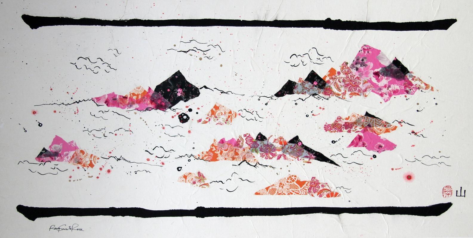 ArtByRemy - Montagne chinoise 4