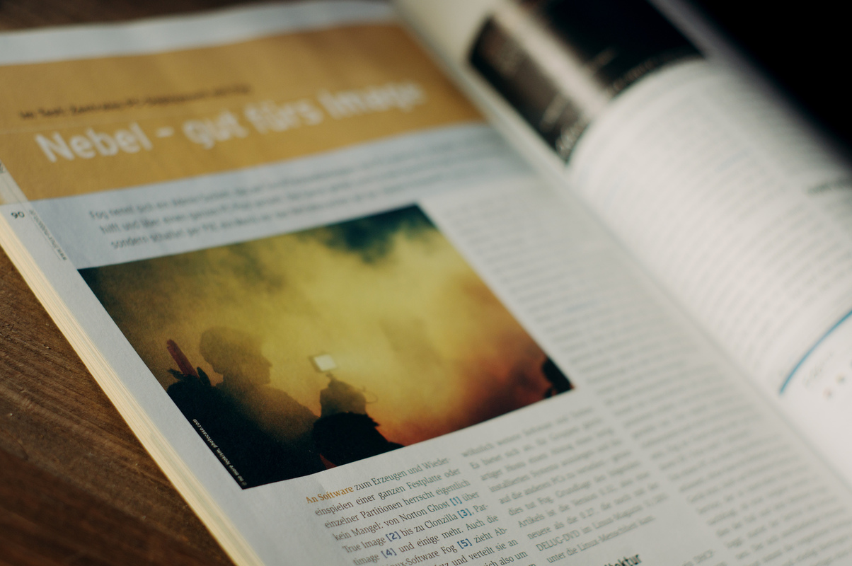 photography - Linux Magazin / Nr.1 / 2012