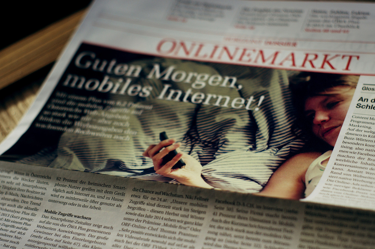 photography - Horizont / Wochenzeitung für Medien / Nr.39 / Österreich / 2013
