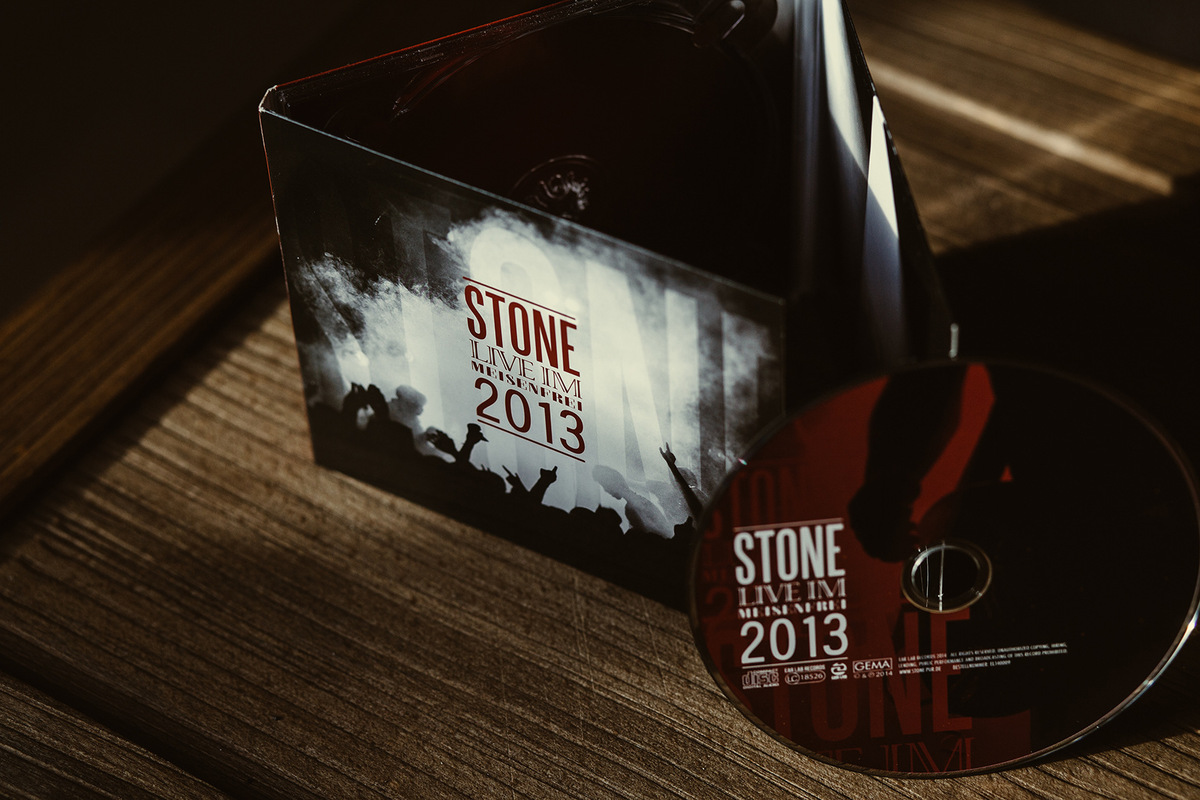 photography - Stone / Cover / Live-CD / 2014