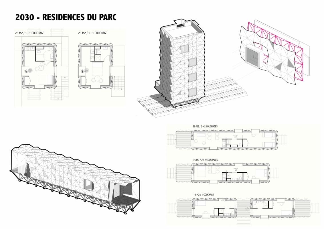 dumas-architectures Lyon - Résidences du parc habité de la Rotonde