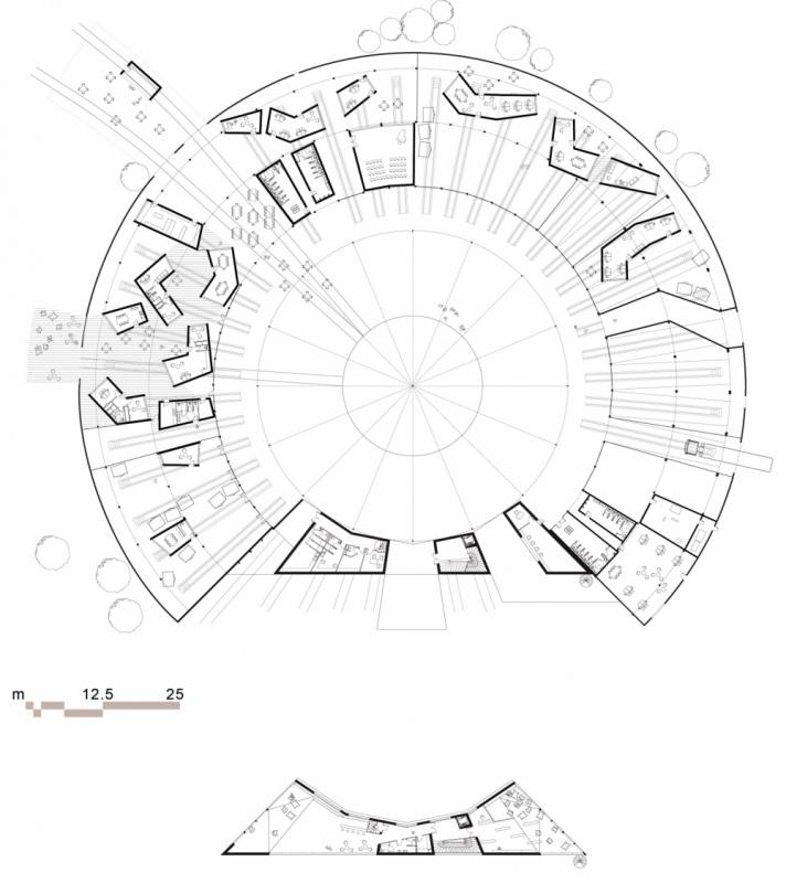 dumas-architectures Lyon - Plan de la rotonde en 2030