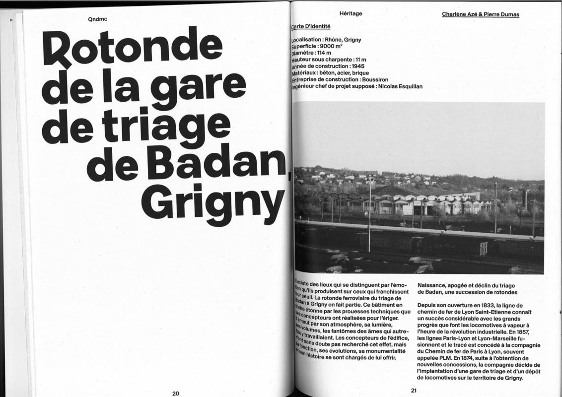 dumas-architectures Lyon - Article rotonde Grigny QNDMC