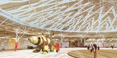 dumas-architectures Lyon - CNAR - Expérience de la durée - Rotonde de Grigny