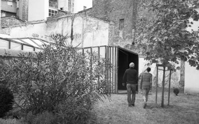dumas-architectures Lyon - SALLE DE CINEMA EPHEMERE ET SCENOGRAPHIE EXPOSITION ARTIFICIAL LANDSCAPES, A LA FONDATION BULLUKIAN.