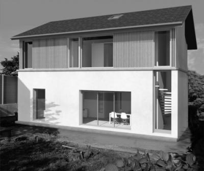 dumas-architectures Lyon - MAISON R - SURÉLÈVE MOI ! CALUIRE