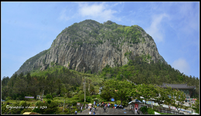 Fotografias - montaña Sanbangsan