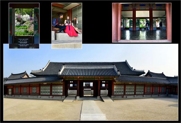 Fotografias - en el Palacio Gyeongbokgung