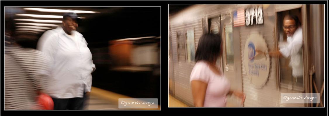 Fotografias - En el metro