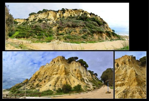 Fotografias - Acantilado del Asperillo Playa del Parador de Mazagon