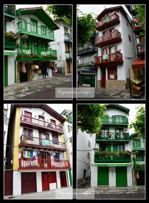 Fotografias - casas típicas Hondarribia