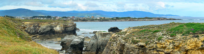 Fotografias - Playa de las Catedrales -73- Al fondo, Foz