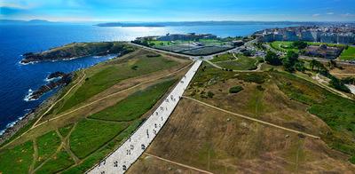 Fotografias - A Coruña - desde la Torre de Hercules -2-