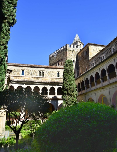 Fotografias - Claustro del Monasterio -2-