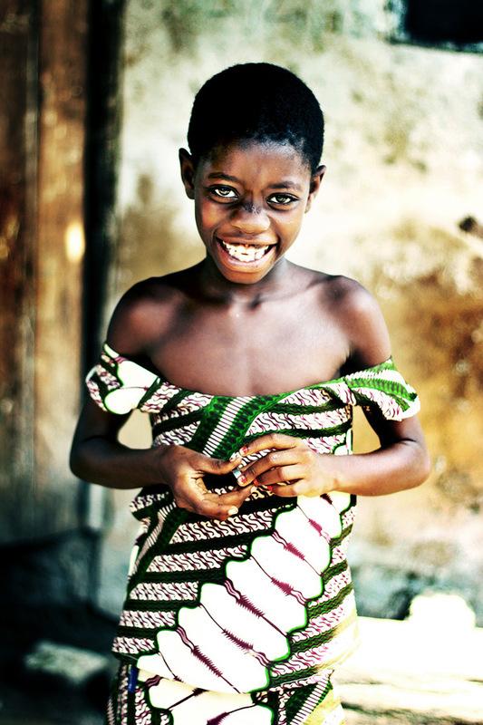 Iselin Shaw of Tordarroch - Old Ningo, Ghana