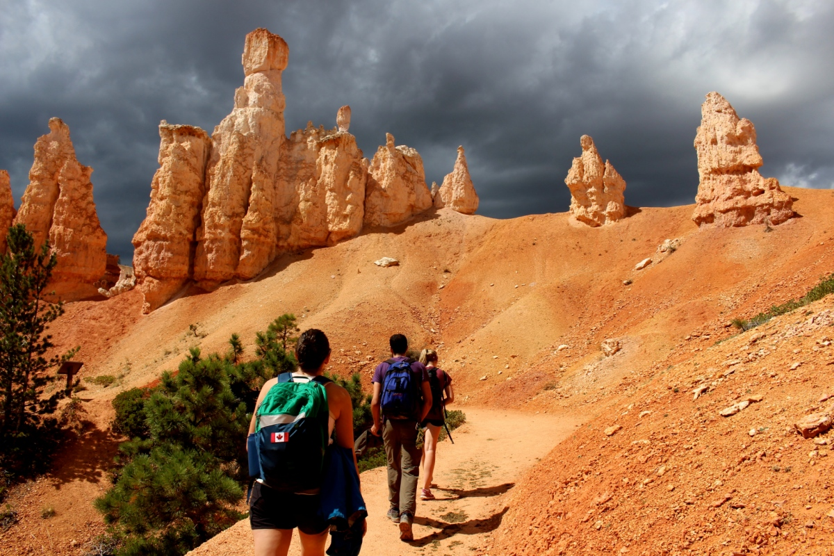 Genevieve French Photography - The storm approaches at Bryce Canyon National Park, Utah