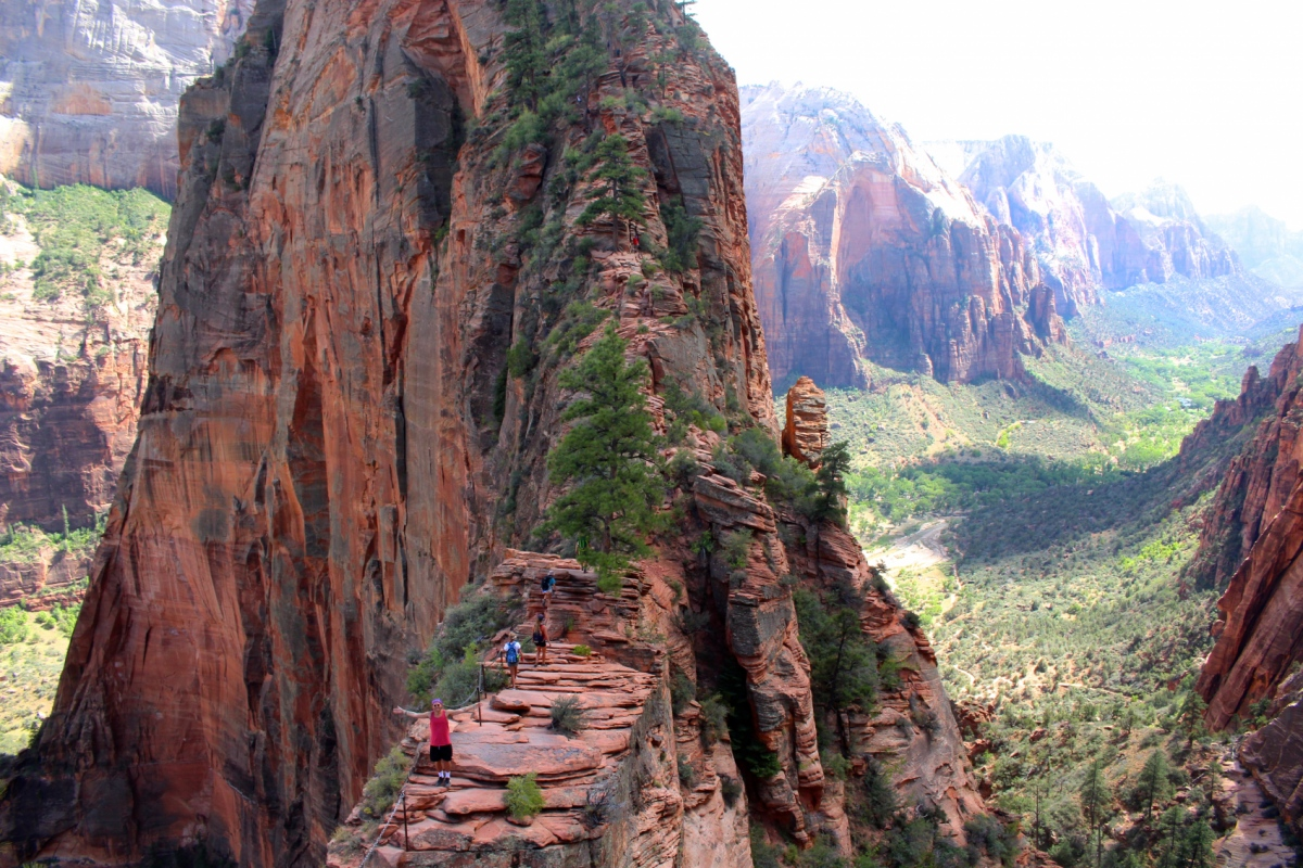 Genevieve French Photography - Angels Landing Trail, Zion National Park, Utah