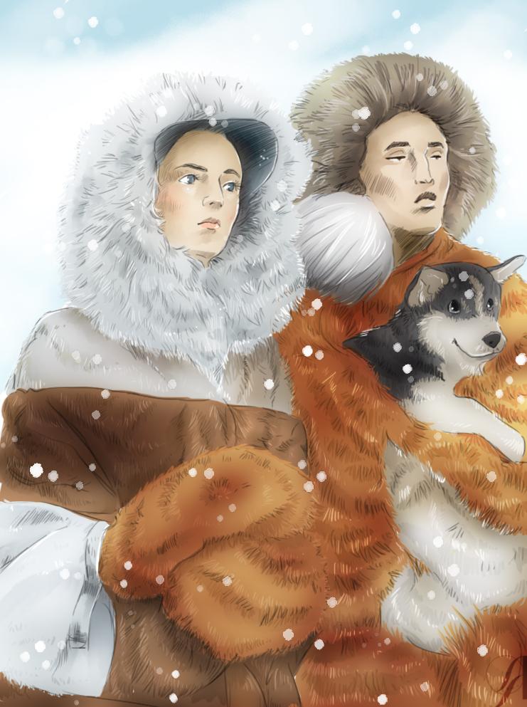 Aurélie Betsch Illustrations - Mr. and Mrs. Allfur