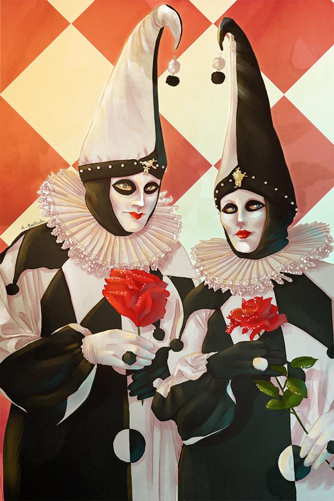 Aurélie Betsch Illustrations - Carnaval de Venise