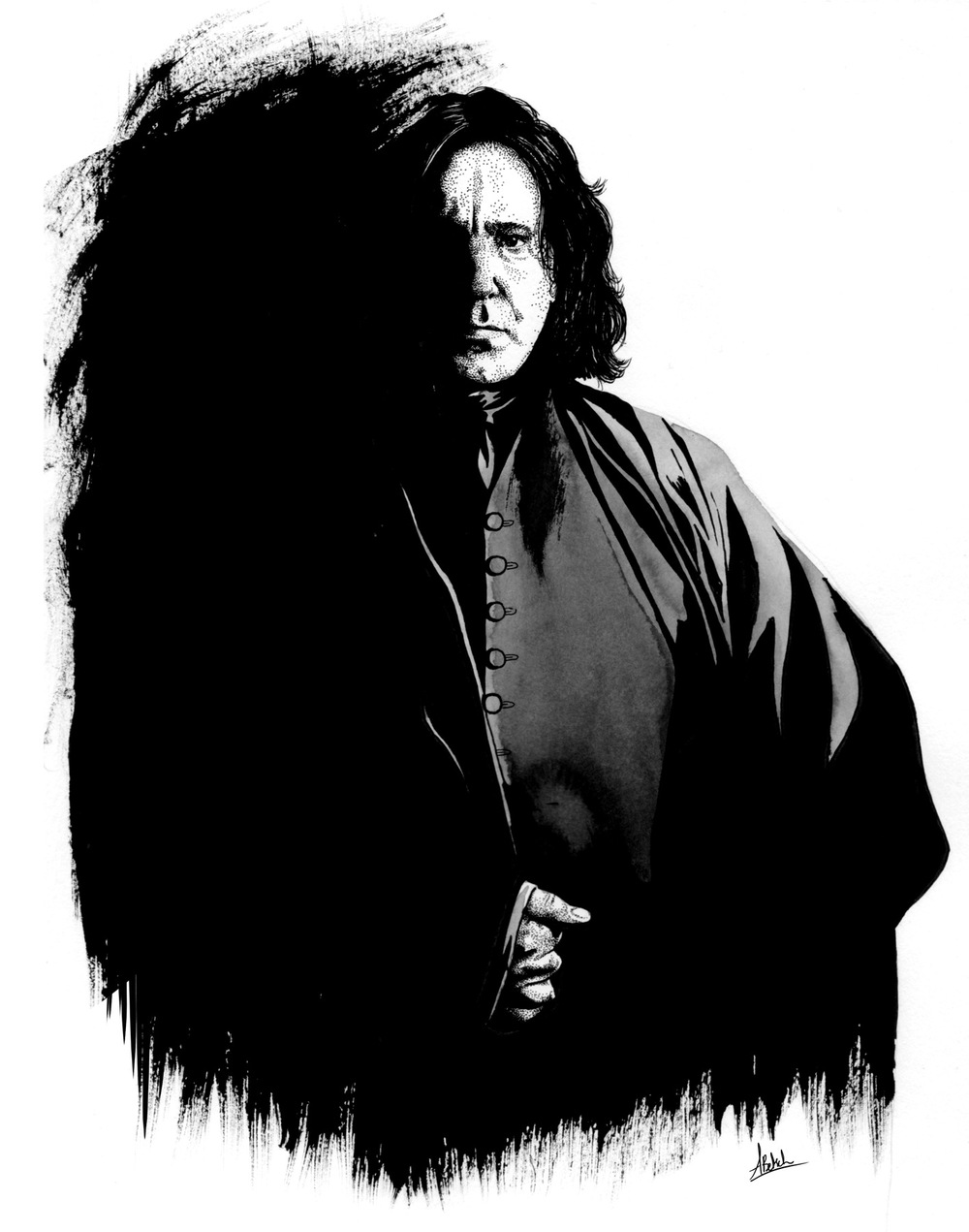 Aurélie Betsch Illustrations - Alan Rickman