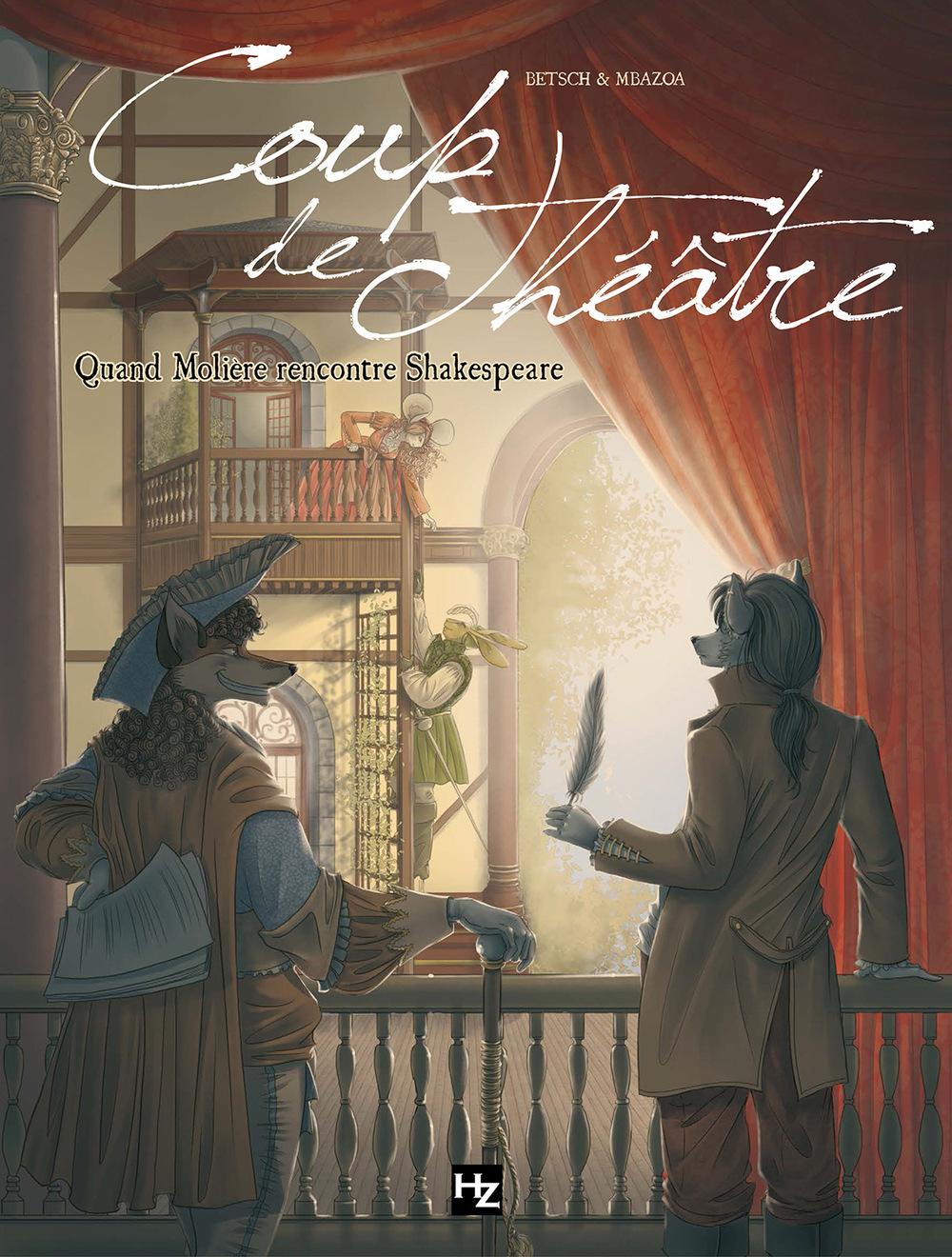 Aurélie Betsch Illustrations - Coup de théâtre, bande-dessinée