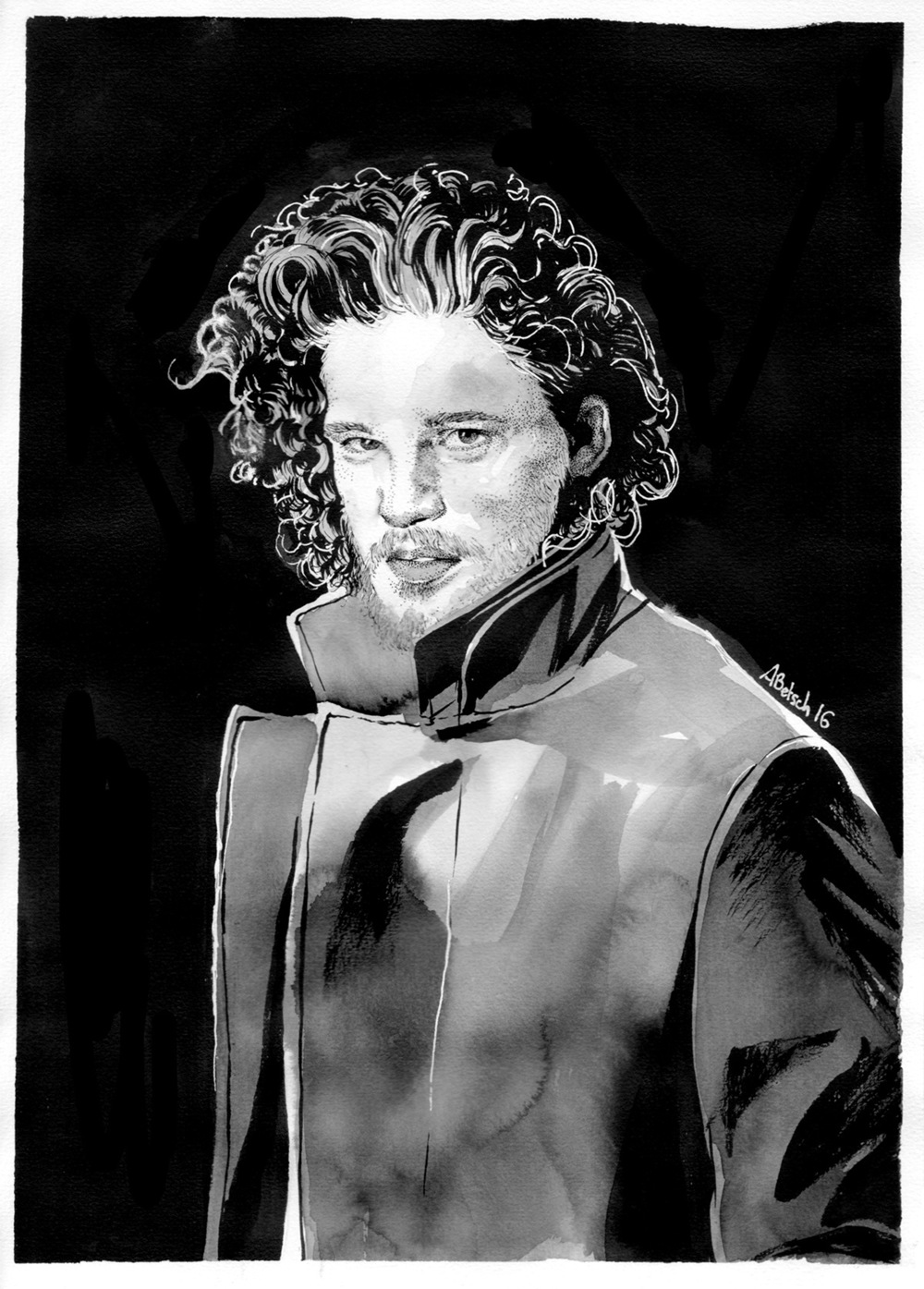 Aurélie Betsch Illustrations - Kit Harrington