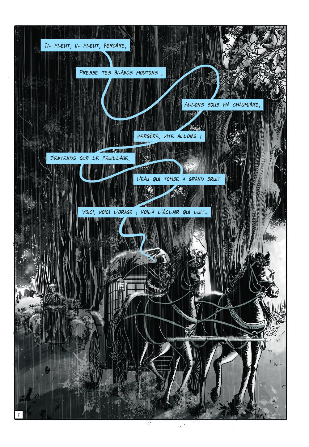 Aurélie Betsch Illustrations - Planche 1, Les dieux ont soif