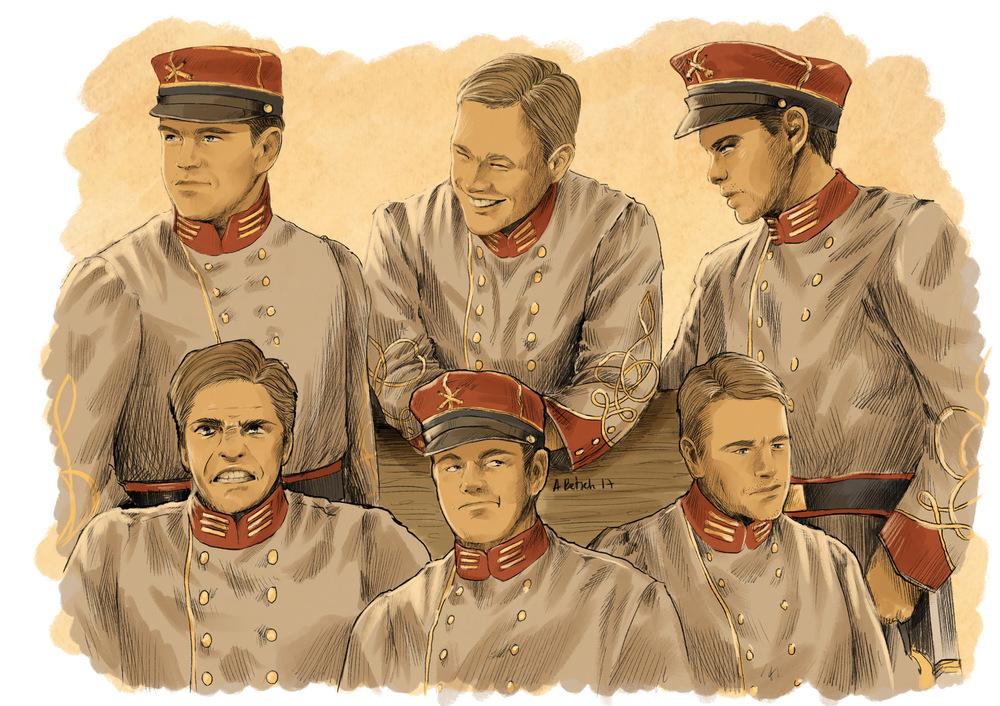 Aurélie Betsch Illustrations - Erwin Witacker, personnage de Confédération