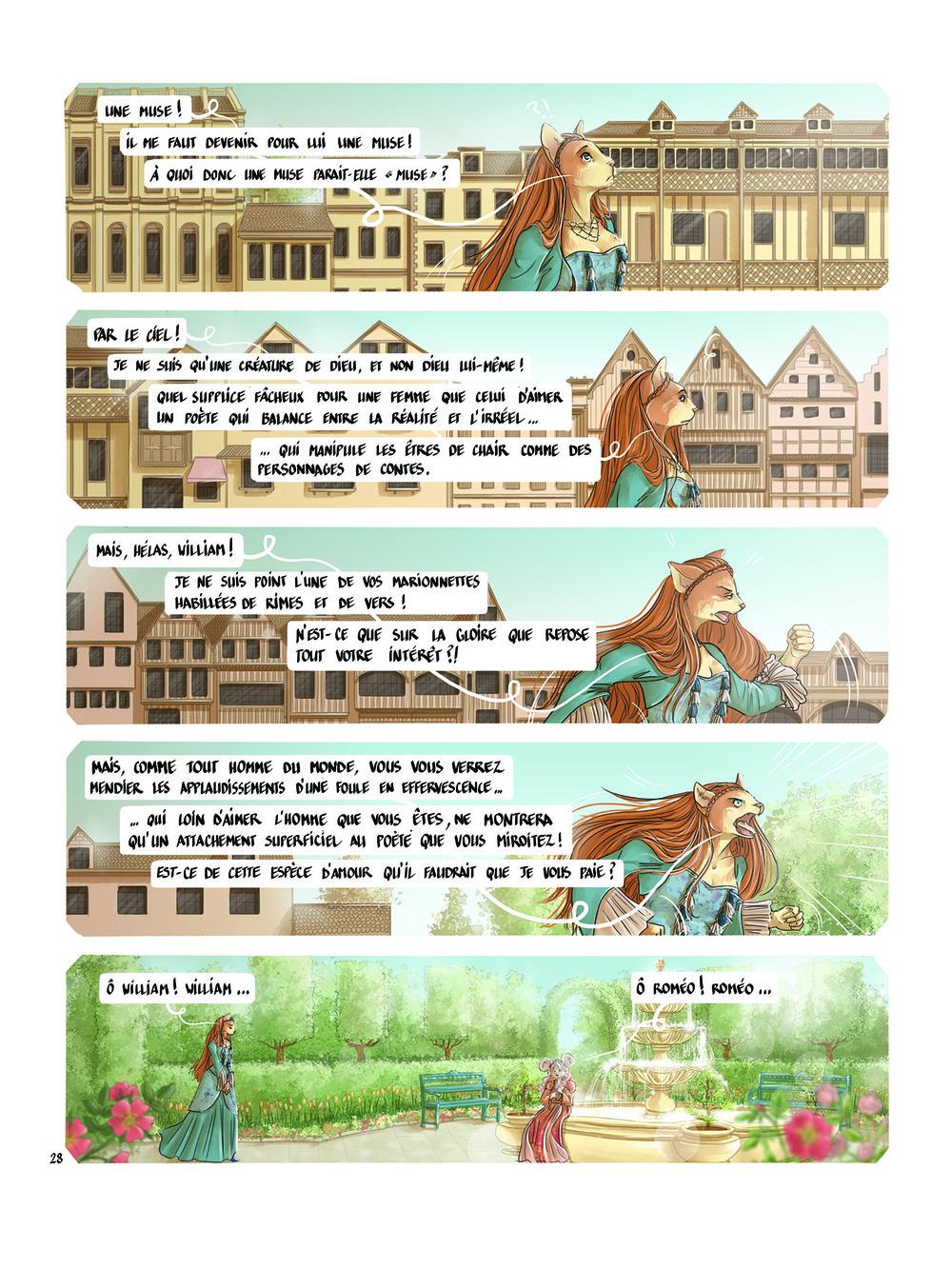 Aurélie Betsch Illustrations - Coup de Théâtre, planche 28