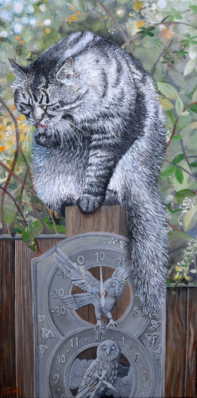Imi Woods - Animal Artist - Cats