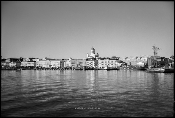 frederic dargelas photographer in Helsinki. Photography artwork. - Helsinki from the sea.