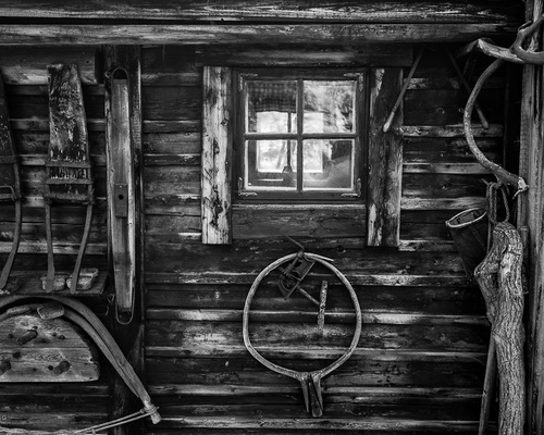 frederic dargelas photographer in Helsinki. Photography artwork. - Shed I (North Finland)