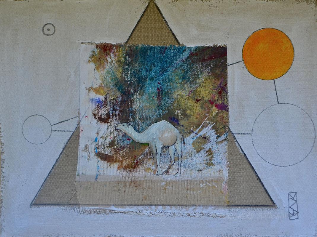 Richard Mangani - 29,5 x 40 - vendu