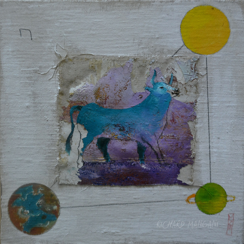 Richard Mangani - 29,5 x 29,5 - vendu