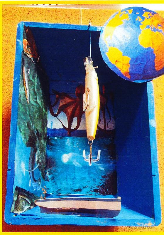Richard Mangani - 2008 école de Palavas les Flots classe de CM1 Je crée mon univers daprès les boîtes de Joseph Cornell