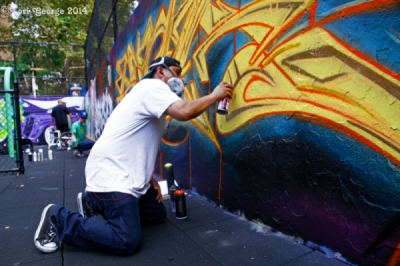 Lori George Photography - The NYC Graffiti Hall of Fame Presents: The 2014 Edition