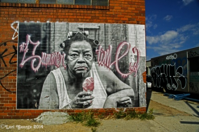 Lori George Photography - Brooklyn Graffiti Friday September 19.2014