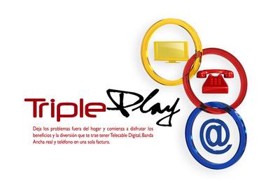 Roberto Rodriguez Portfolio - Tricom - Triple Play
