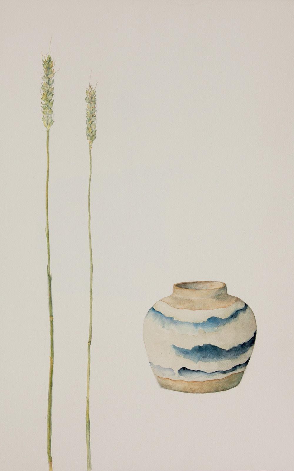 Lise-Lotte Nielsen - Kinesiska Krukan II 60x40 cm.