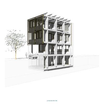 Azhar Architecture - MODULAR TERRACE HOUSE SYSTEM www.AzharArchitecture.com