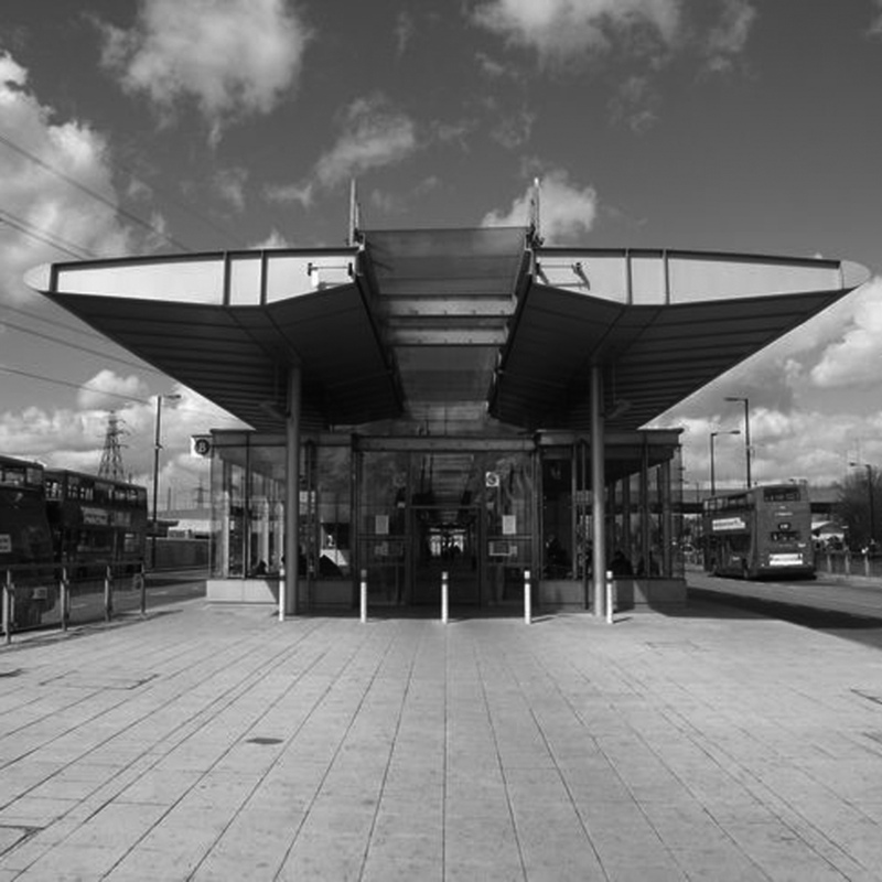 Azhar Architecture - TRANSPORT: Jubilee Line Station, Canning Town, London