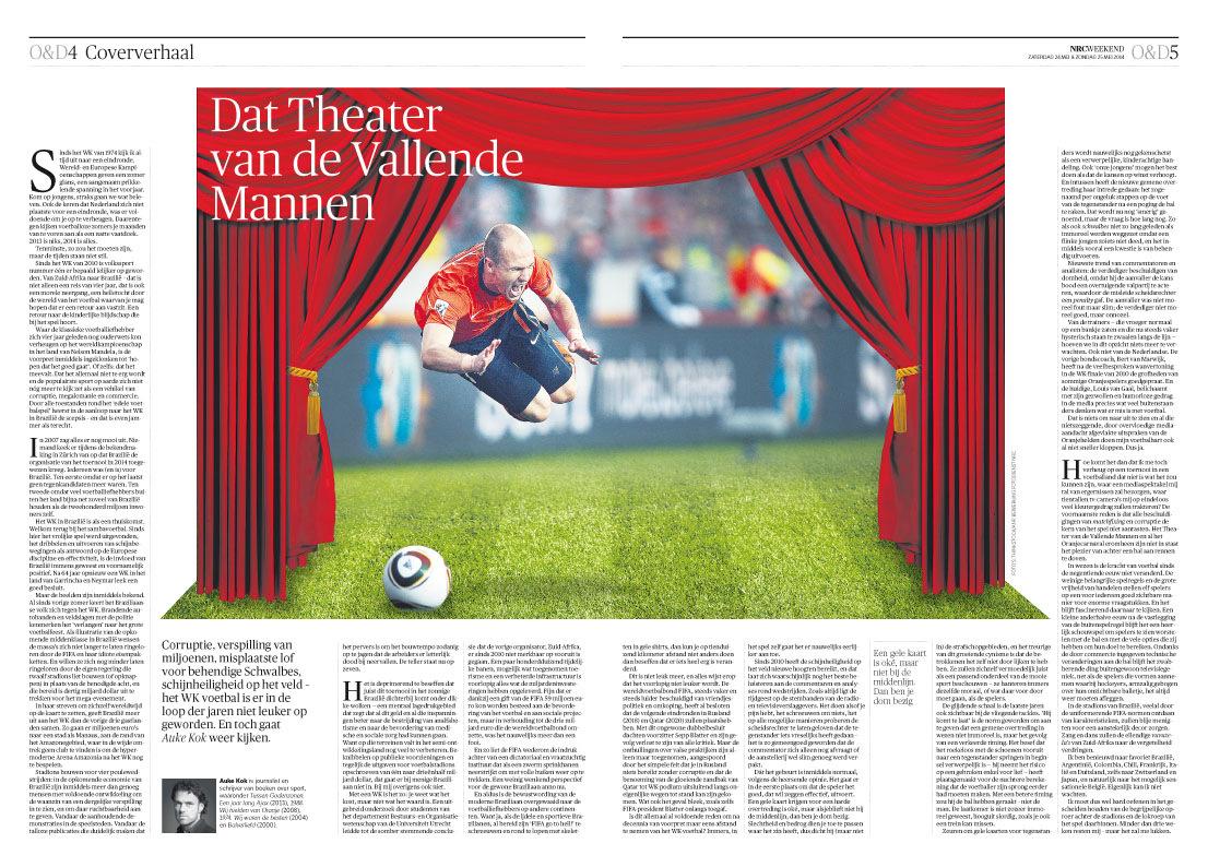 Nicoline Caris, artdirection and graphic design - met voetbal heeft het weinig meer te maken