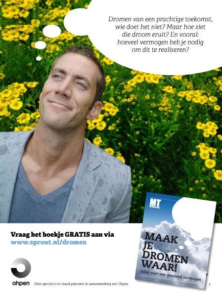 Nicoline Caris, artdirection and graphic design - >> Advertentie en boekje ontworpen voor Ohpen