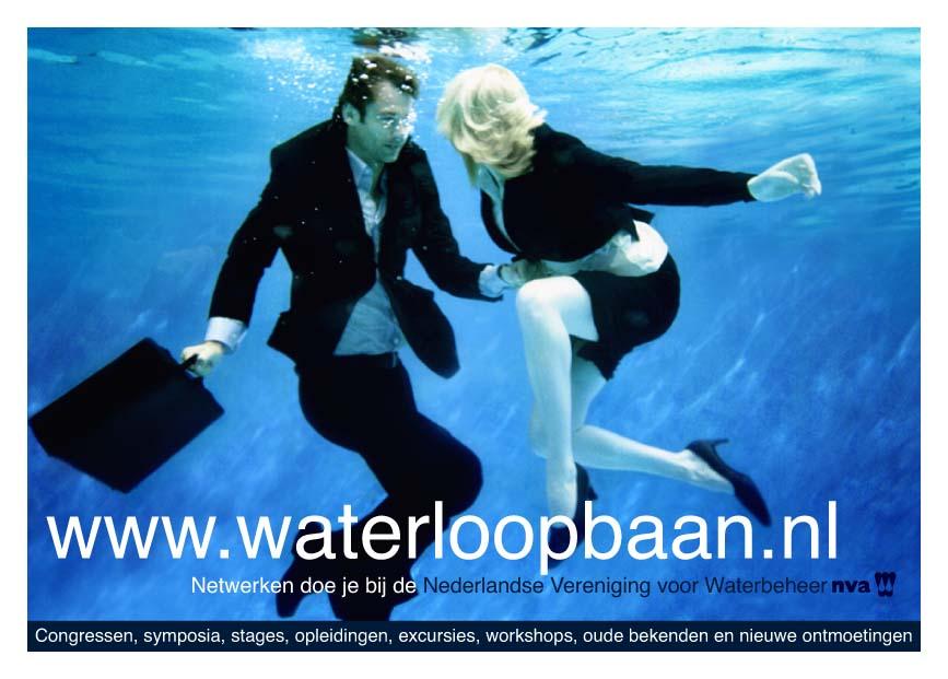 Nicoline Caris, artdirection and graphic design - >> Campagne voor Nva om studenten warm te krijgen voor een carrière in het waterbeheer.