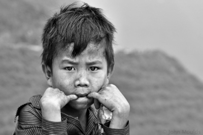 face of vietnam - Mountain Boy from Ma Li Peng Pass, Ha Giang
