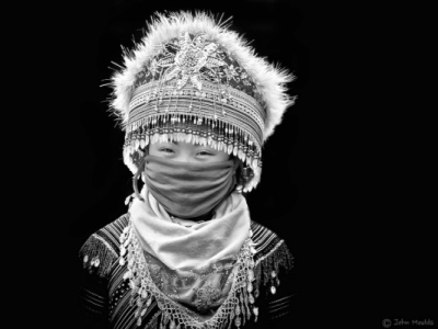 face of vietnam - HMong girl in Pha Long Market, Lao Cai, Vietnam... This photo has won First Place in the Amateur Travel Portrait Category in the World in Focus Photographic Competition 2014 in New York.