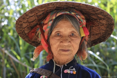 face of vietnam - La Hu in Bum To Village